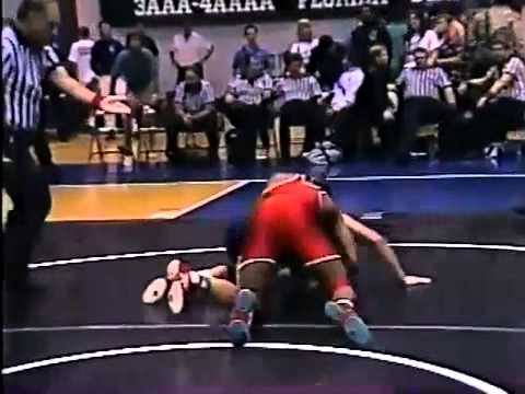 Watch Ray Lewis Lose The 1992 High School Wrestling State Champ…
