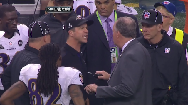 What Was John Harbaugh Ranting About During The Blackout? We As…