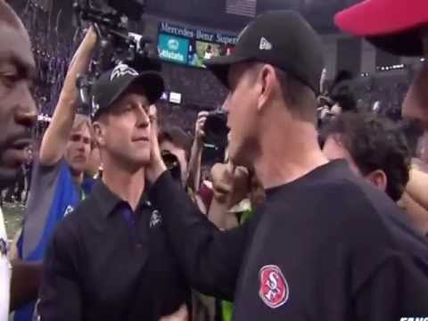 John Harbaugh Shoved A Photographer Just Before The Postgame Ha…