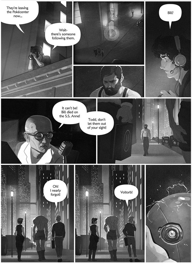 Pokémon Goes Noir In This Terrific Comic For Grown Ups
