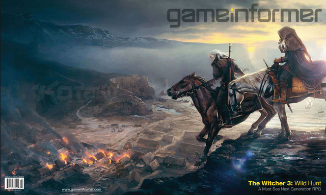 The Witcher 3 Announced, First Artwork Revealed [Update: More Artwork, Video]