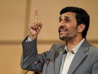 Ahmadinejad wants to be the first Iranian in space