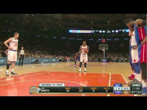 J.R. Smith Airballs A Free Throw, Crashes A Children's Basketba…