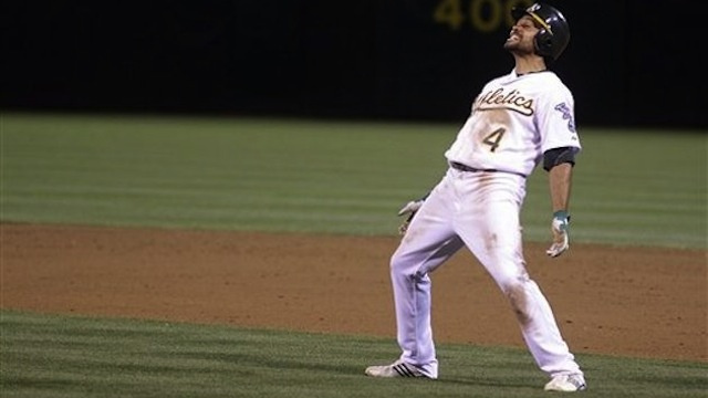 This Coco Crisp Bobblehead Does The Bernie, And You Want It