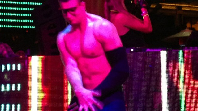 Rob Gronkowski Danced Shirtless And Wrestled At A Vegas Club An…