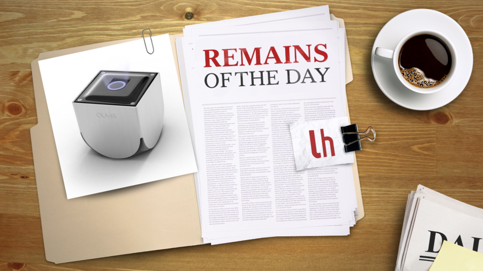 Remains of the Day: OUYA, The Affordable, Hacker-Friendly Game Console, Arrives This June