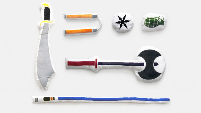 Arm Yourself with Weapon Shaped Pillows for Your Next Pillow Fight