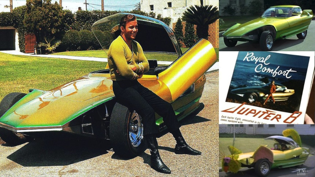 The shiniest retro-futuristic cars from classic science fiction