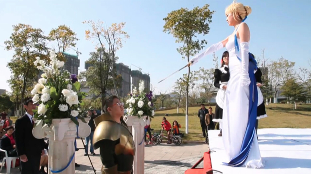 anime - Weddings Don't Get Much Geekier Than This