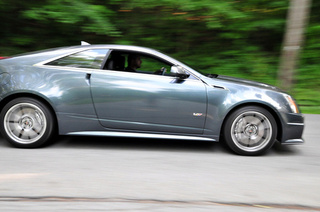 Cadillac CTS-V Coupe: Eating Your Way To A Burnout