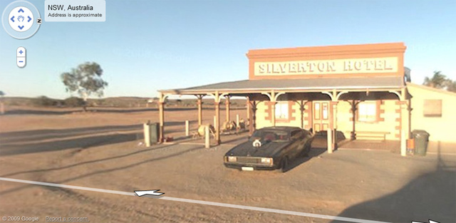 Google Street View Catches Mad Max V8 Interceptor