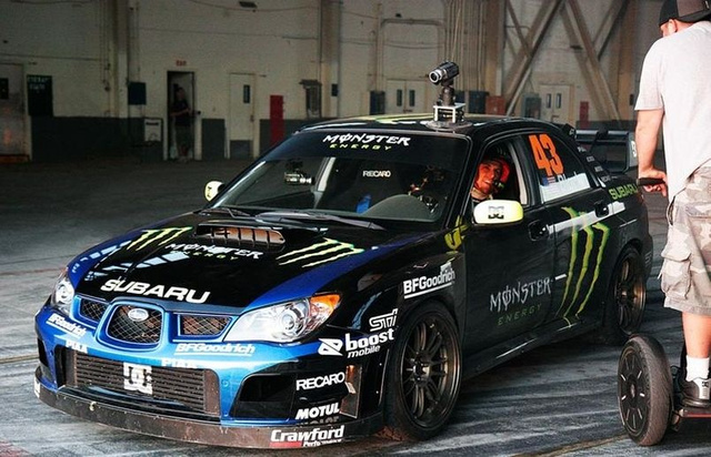 "Ken Block's Gymkhana Practice Video Reveals ""Big Oops"""