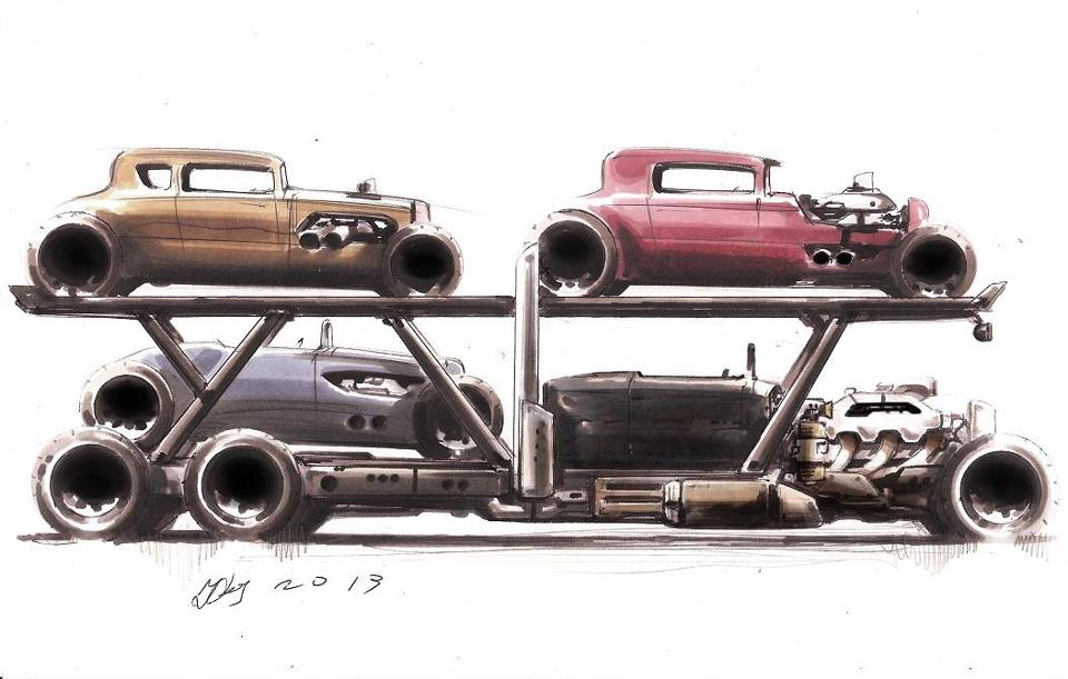 old race car haulers - Page 56 - Yellow Bullet Forums