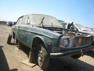 1970 Volvo 144E Down On The Junkyard