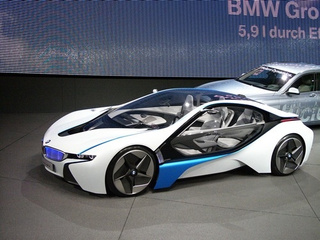 BMW Vision EfficientDynamics Concept: Live Photos