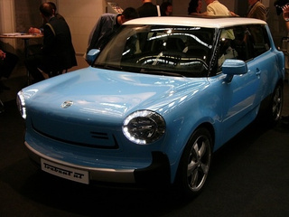 Electric Trabant nT Concept: Live Photos
