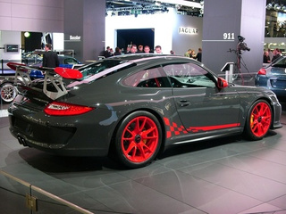 Porsche 911 GT3 RS: Live Photos
