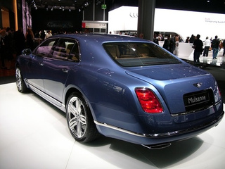 Bentley Mulsanne: Live Photos