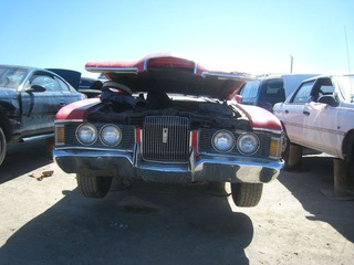 1972 Mercury Cougar XR7 Down On The Junkyard