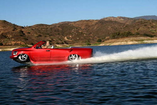 WaterCar Python Fastest Amphibious Vehicle