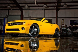 Chevy Camaro Convertible By Drop Top Customs