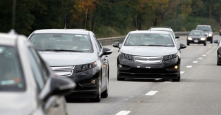 Chevy Volt Pre-Production Drive: Press Photos
