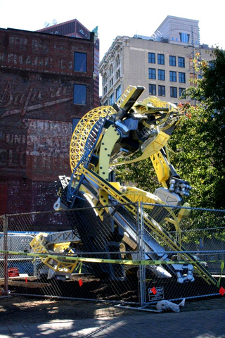 Pittsburgh Bridge Robot Arch