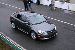 Driving The Suzuki Kizashi V6 Test Mule