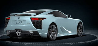 Lexus LFA Color Options