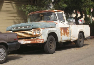 1959 Ford F100 Pickup Down On The Alameda Street