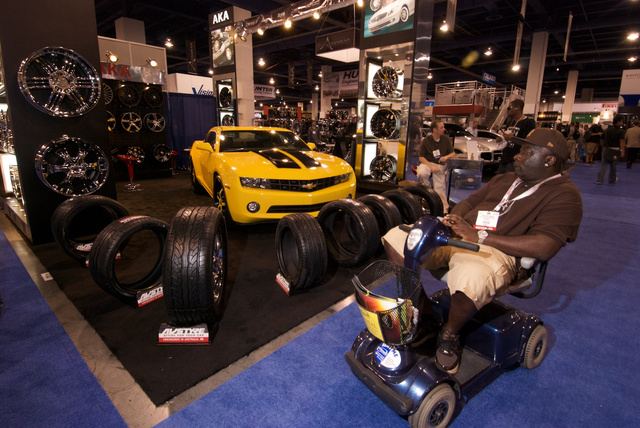 The Hoverrounds of SEMA