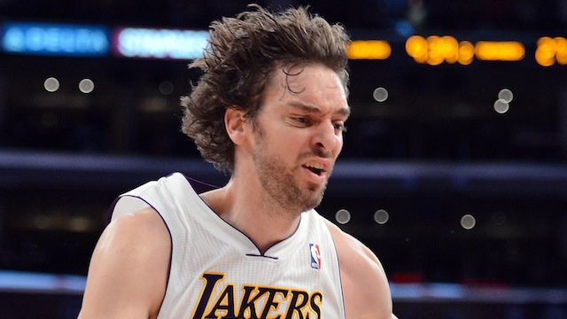Pau Gasol Has A Torn Plantar Fascia, Will Miss Six Weeks Of Being Included In Trade Rumors