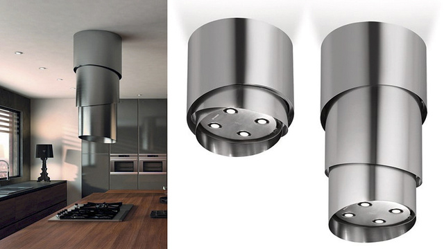 Is This a Gorgeous Range Hood Or a UFO Abduction Tube?