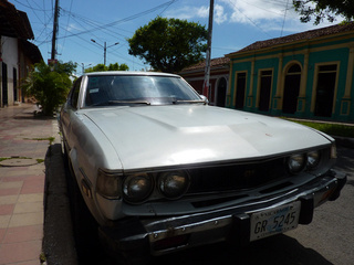 First-Gen Toyota Celica Down On The Nicaraguan Street