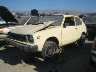 1978 Honda Civic Down On The Junkyard