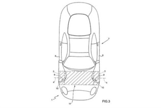 Ferrari Door Patent Drawings