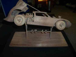 Gary Tatman's Carved Racing Cars