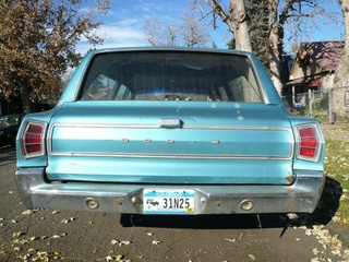 1968 Dodge Coronet Wagon Down On The Denver Street
