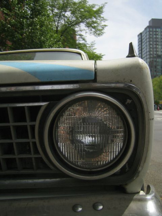 1966 Plymouth Barracuda Down On The New York Street