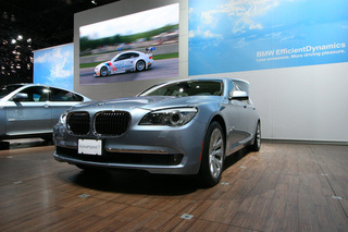 BMW Hybrid 7-Series: LA Auto Show Photos