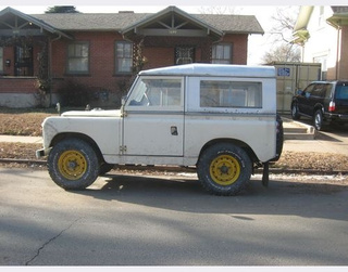 Series II Land Rover Station Wagon Down On The Denver Street