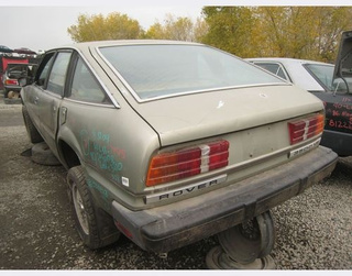 1980 Rover 3500 Down On The Junkyard