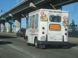 Boogie Man Ice Cream Truck Down On The Oakland Street