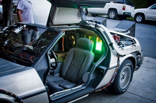 Back To The Future DeLorean: Detail Photos