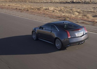 2011 Cadillac CTS-V Coupe: Press Photos