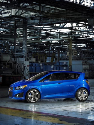 Chevy Aveo RS: Press Images