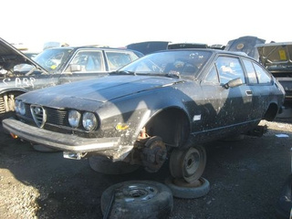 1979 Alfa Romeo Alfetta GTV Down On The Junkyard