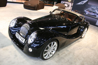 Morgan Aero Supersport: Detroit Live Photos