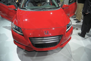Honda CR-Z: Detroit Show Live Photos