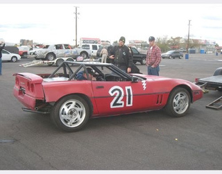 First Ever 24 Hours Of LeMons Corvette